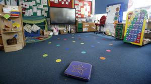 Research suggests childcare providers are facing large financial losses (Martin Rickett/PA)