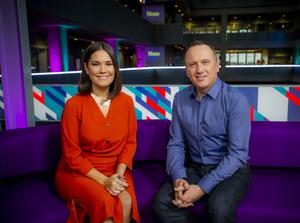 Rebecca Curran and Martin Geisler will co-host the new show (BBC/Alan Peebles)