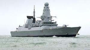 HMS Duncan - one of the Royal Navy's six Type 45 destroyers - is due in Belfast on Friday along with three other NATO warships