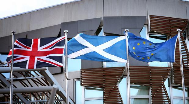 MSPs voted to reject the UK Government's Withdrawal Agreement Bill on Wednesday (Jane Barlow/PA)