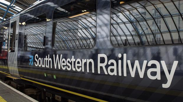 South Western Railway said half of its normal Saturday service will operate (Victoria Jones/PA)