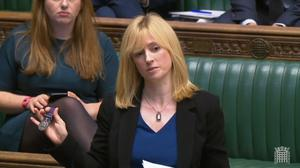 Rosie Duffield is no longer a Labour whip (PA)