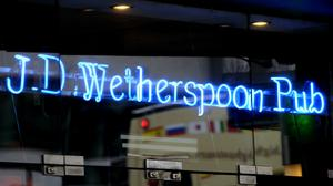 Wetherspoons said sales were subdued over the weekend (Tim Ireland/PA)