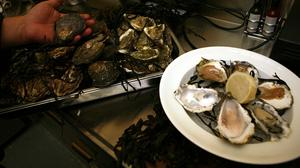 Oysters ranked behind only tripe and tongue in a survey by BBC Good Food to identify the most hated foods