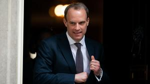 Foreign Secretary Dominic Raab (Aaron Chown/PA)