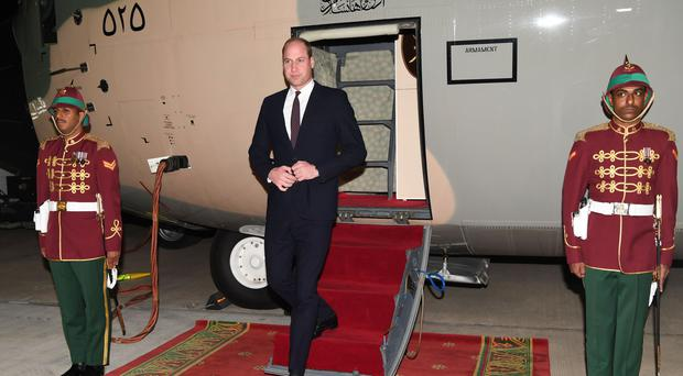The Duke of Cambridge has set up The Earthshot Prize in a bid to find solutions to global problems such as climate change (Tim Rooke/PA)
