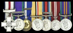 Among the medals being sold are a General Service Medal, the Operational Service Medal for Afghanistan and the Jubilee Medal (Credit Dix Noonan Webb/PA)