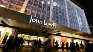 John Lewis on Oxford Street in London