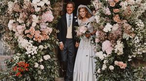 Princess Beatrice's wedding included the bride and groom's favourite flowers (Benjamin Wheeler/PA)