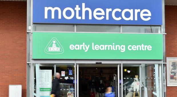 A Mothercare store in Eastgate Retail Park, Bristol, as it has announced plans to put its UK retail business, which has 79 stores, into administration, putting hundreds of jobs at risk. (PA)