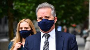 Christopher Steele, a former British spy, arrives at the High Court in London for a hearing in the libel case (PA/Victoria Jones)