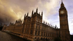 Houses of Parliament in Westminster