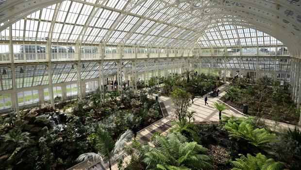 The Temperate House at Kew Gardens is set to reopen after a major restoration (Kirsty O'Connor/PA)