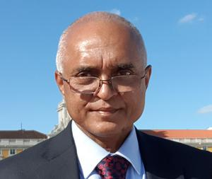 Jitendra Rathod, a surgeon who died in Cardiff after testing positive for Covid-19 (Cardiff and Vale University Health Board)