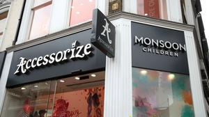 A branch of Accessorize Monsoon Children on Oxford Street, central London. Monsoon Accessorize has hired advisers to consider options including a potential sale (Yui Mok/PA)
