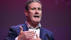 UK Labour leader Sir Keir Starmer wants to have a 'frank conversation' with Scots on renewing trust in the party (JaneBarlow/PA)