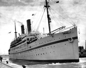 The Empire Windrush (PA)