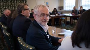 """Jeremy Corbyn said people had """"better get used"""" to surveys"""