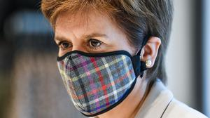 First Minister Nicola Sturgeon has said she will not shy away from taking a decision to impose quarantine on English visitors to Scotland (Jeff J Mitchell/PA)