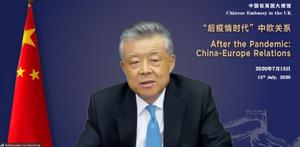 Chinese ambassador Liu Xiaoming has warned there will be a 'resolute response' to any sanctions (PA)