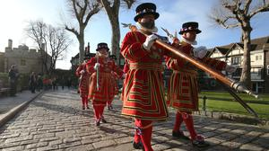 Yeoman Warders are more commonly known as Beefeaters (Jonathan Brady/PA)
