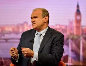 Treasury spokesman for the Liberal Democrats, Sir Ed Davey (Jeff Overs/BBC)
