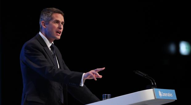 Education Secretary Gavin Williamson has said universities must use their degree awarding powers responsibily and not inflate grades (Danny Lawson/PA)