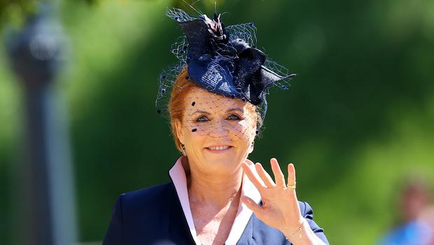 Sarah, Duchess of York has signed a seven-book deal (Gareth Fuller/PA)
