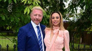 Boris Becker and his wife Lilly (Ian West/PA)