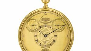 King George III's Breguet watch had to be bought discreetly due to the war with France (Sotheby's/PA)