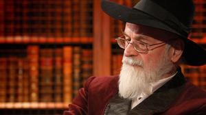 Author Sir Terry Pratchett, who has died aged 66