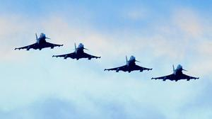 RAF Typhoon and Tornado jets and Reaper drones have flown more than 8,000 sorties (Nick Ansell/PA)