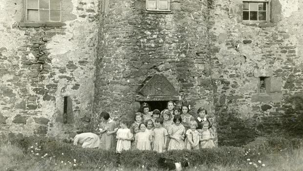 Evacuated children at their nursery school in Scotland (Royal Voluntary Service/PA).
