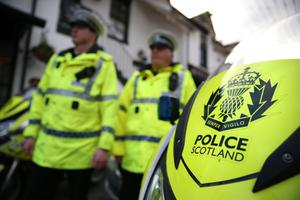 'Police Scotland have urged football fans to plan their journey in advance, with a number of road closures due to be in place' (stock photo)