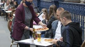 Half-price meals will be available from businesses participating in the Government's scheme (Jane Barlow/PA)