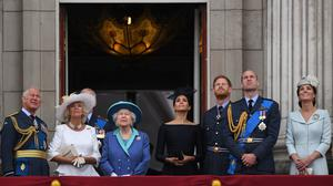 The royal family will have to adjust to the absence of Harry and Meghan (Victoria Jones/PA)