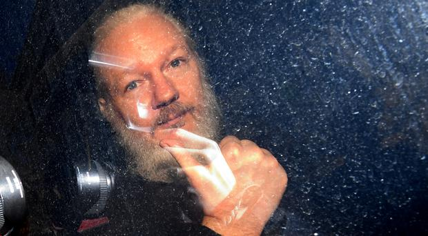 A court hearing has been held in the Julian Assange case (PA)