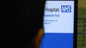 A new deal with Microsoft to supply its digital tools to hospitals and medical services across England will save hundreds of millions of pounds, the NHS has said (Rui Vieira/PA)