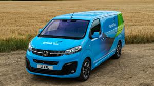 British Gas has ordered 1,000 electric vans from Vauxhall (British Gas/Vauxhall/PA)