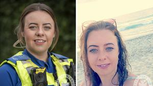 Police Community Support Officer Holly Burke, 28, who died in a crash after a car being followed by police failed to stop during a 15-minute chase (West Midlands Police/PA)