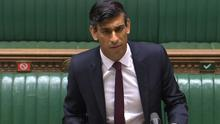 Chancellor Rishi Sunak. (House of Commons/PA)