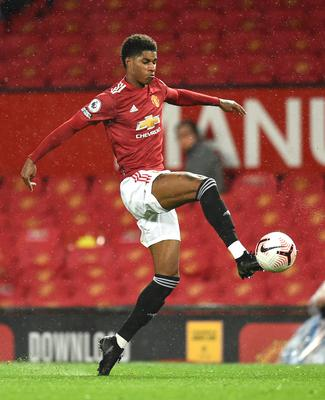 Marcus Rashford says he relied on free school meals during his own upbringing (Oli Scarff/PA)