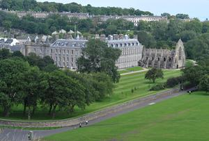 The Palace of Holyroodhouse, the Queen's official residence in Scotland (Tim Ireland/PA)