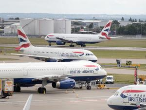 BA applied for an interim injunction to prevent strike action by pilots based at Heathrow and Gatwick (Steve Parsons/PA)