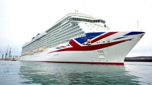 The Queen has officially named the new £473 million P&O Cruises vessel Britannia