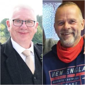 Donald Dinnie and Christopher Stuchbury died in the incident (Police Scotland/PA)