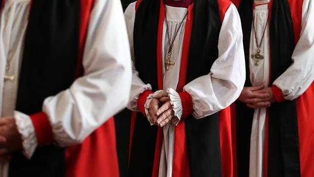 Members of Church of England clergy (Lynne Cameron/PA)