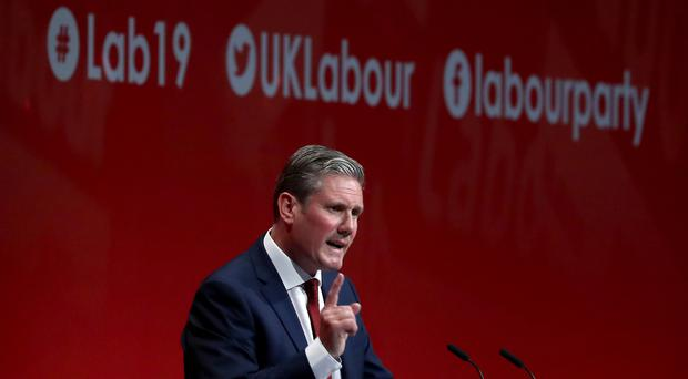 Shadow Brexit secretary Sir Keir Starmer is launching his leadership campaign in Manchester (Gareth Fuller/PA)
