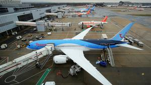 Gatwick is the second busiest airport in the country (Gareth Fuller/PA)