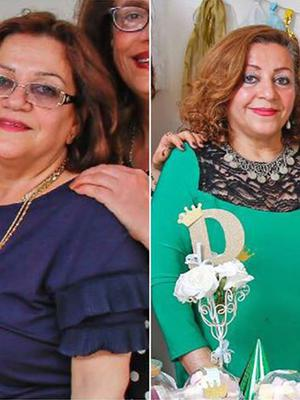 Sakineh Afrasiabi, 65, left, and her younger sister Fatemeh (Family/PA)